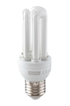 CFL 3U 11W E27 COOL WHITE 5 PACK