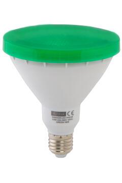 EUROLUX LED PAR38 E27 14W GREEN