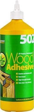 Wood adhesive (502) 125ml everbuild