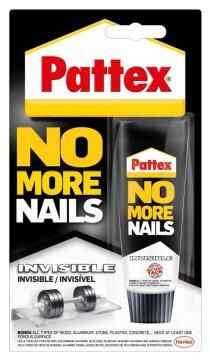 PATTEX NO MORE NAILS INVISIBLE 40G