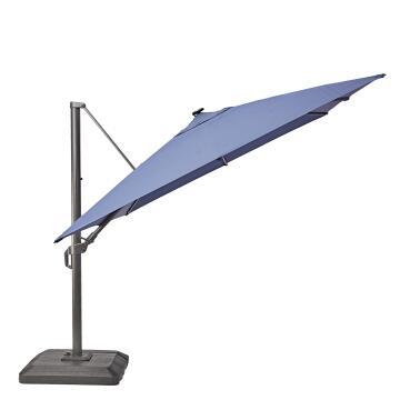 Umbrella Aluminium LED Rectangular 280 cm X 390 cm NATERIAL