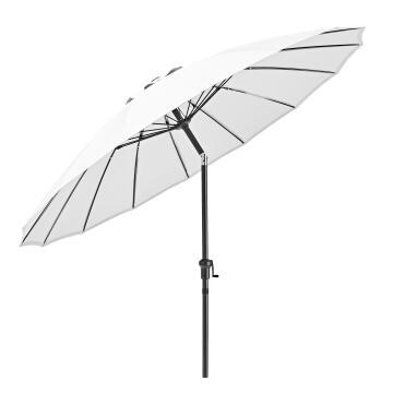 UMBRELLA SINAE ALU-STEEL ROUND D250 WHITE 200G