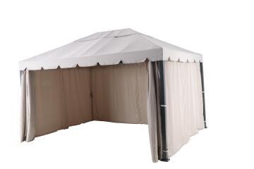 Gazebo Ysis with Mosquito Net Aluminium 300 cm X 400 cm
