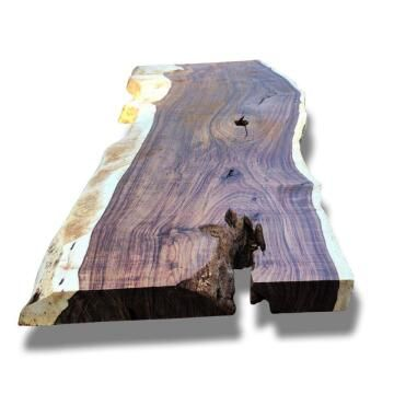 Live Edge Slab Premium Hardwood Small-