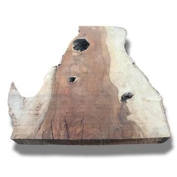Live Edge Slab Premium Hardwood Extra Small-