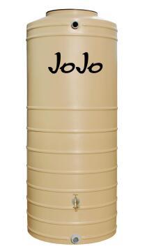 Tank, WAter Tank, Winter grass, JOJO, 1000 liter Slimline