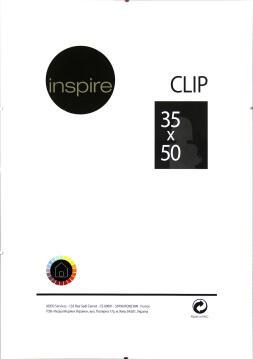 Clip Frame INSPIRE 35x50cm
