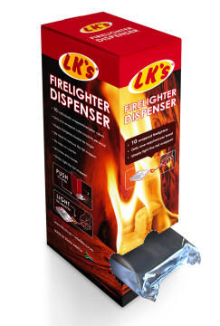 Lk'S Firelighters Dispenser