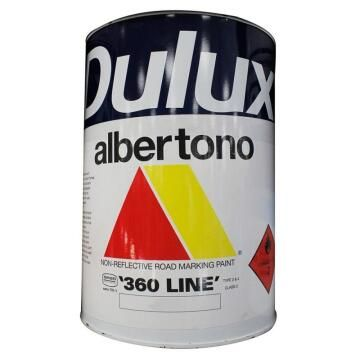 Paint road marking DULUX ALBERTONO Red 5L