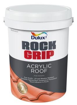 Paint acrylic roof ROCKGRIP Black 20L