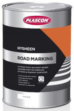 Hysheen Road Marking Red PLASCON 5 litres