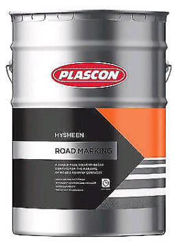 Hysheen Road Marking Red PLASCON 20 litres