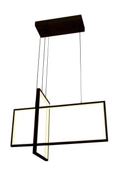 PENDANT LED 2 LIGHT RECTA
