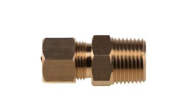 COUPLER 3/8 M X 1/2 OD (66-8C)