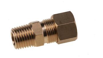 COUPLER 1/4 M X 1/4 OD (68-4A)