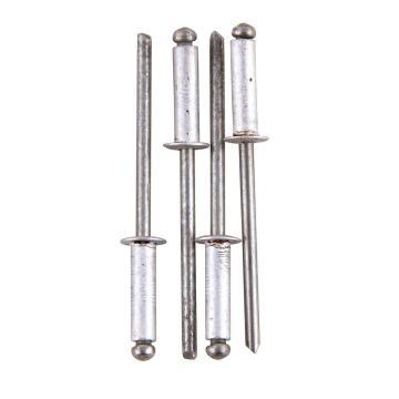 Rivets aluminium 4.0x12mm 100pc