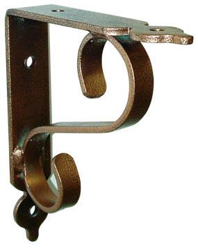 Shelf bracket tuscany copper 28x23cm l&g tools