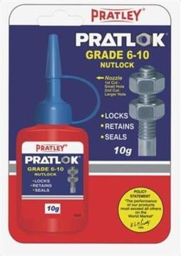 adhesive pratley nutlock 6-10mm 10g