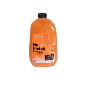 Car wash NU FINISH orange 1.89L