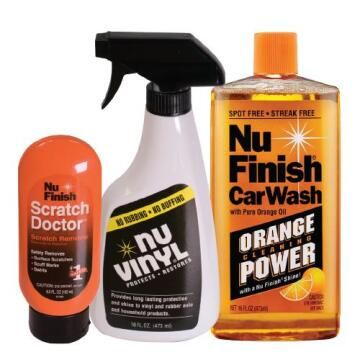 Car wash NU FINISH luxury combo