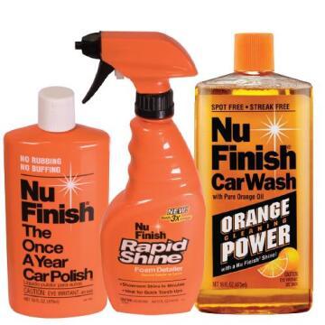 Car wash Nu finish rapid combo