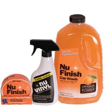 Car wash NU FINISH power combo