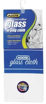 Microfibre glass drying cloth ADDIS