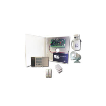 alarm kit 8z keypad siren 12v bat ids