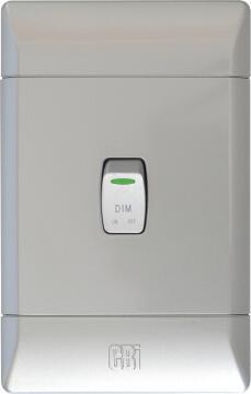 Dimmer Switch Silver Cbi