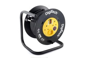 EXT REEL WITH SURGE 1.5MM 30M DIGITECH