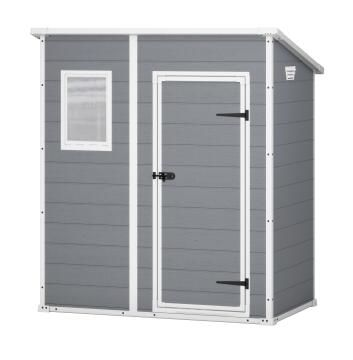Shed Garden MANOR PENT 6X4 (183,5 x 111 x 200,5 ) KETER