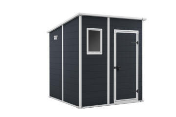 Manor Pent Shed 1.83m x1.83m KETER Only in Dark Grey