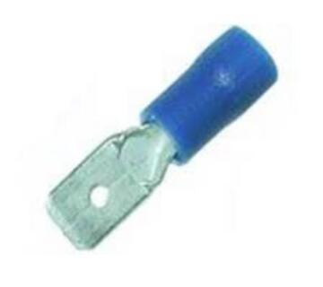 Insl Lug Spade Blue 2S5A Pck13
