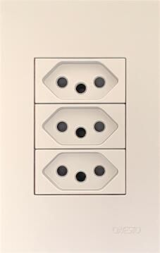 Switch 2 Lever 1 Way 4X2 White Matrix