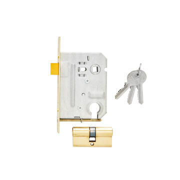 Mortice lock body solid brass cylinder entry mackie