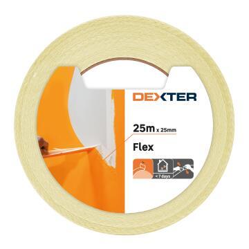 Masking tape DEXTER Flex 25 x 25mm