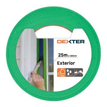 Masking tape DEXTER Exterior Green 25m x 48mm