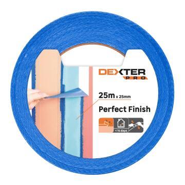 Masking tape DEXTER Pro Blue 25m x 25mm