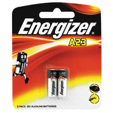 BATTERY A23 ALKALINE 2 PACK ENERGIZER