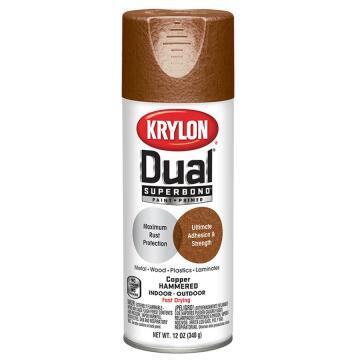 Spray paint KRYLON Dual superbond Hammered Copper 335ML