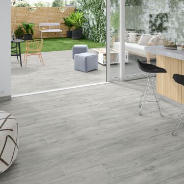 Floor Tile ARTENS Matt Porcelain Living White Intenso 1200x200mm (1.2m2/box)