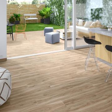 Floor Tile ARTENS Matt Porcelain Living Natural 1200x200mm (1.2m2/box)