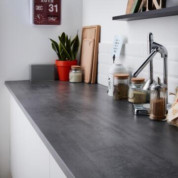 Kitchen worktop laminate Anthracite 2460X635X28
