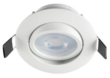 DOWNLIGHT WHITE&BULB WW TILT LED