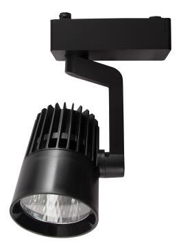 TRACK/L BLACK LED 20W 4000K 1600LM