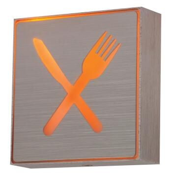 KNIFE & FORK SIGN LED