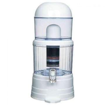14 Liter Mineral Pot counter top water filtration system