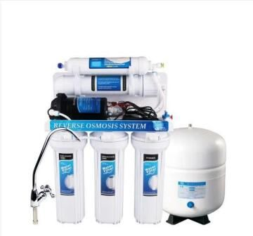 5 Stage Reverse Osmosis Unit 50 Gallons per day with pump
