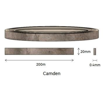 Edging PVC Roll Camden-0.4mm thick-w20mmxl200m