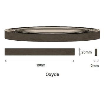Edging PVC Roll Oxyde Stucco 2x20xmm-100m